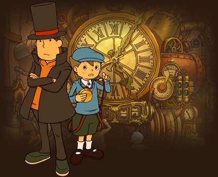 Professor Layton and Luke